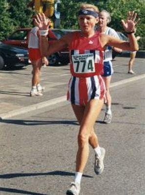 Läuferin Margitta